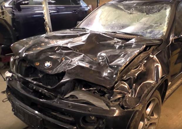 Další pozdravy z Ruska: Tentokrát se z totálky na zánovní voňavku změnilo BMW X5