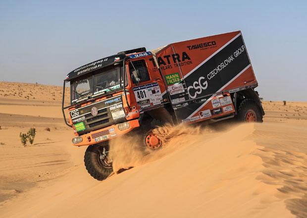 Tomáš Tomeček, Tatra 815 a jejich úspěchy na Africa Eco Race
