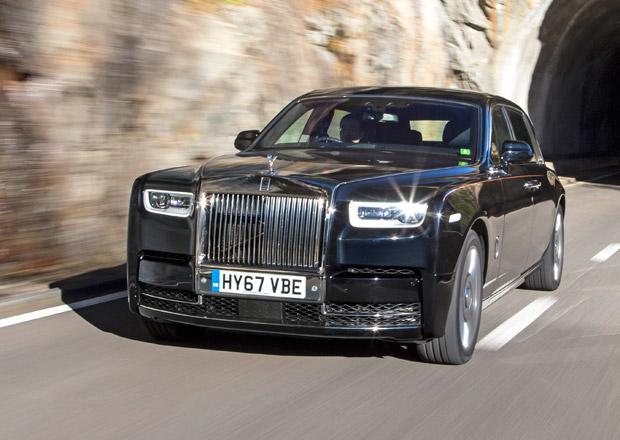 Rolls-Royce i bez modelů řady Phantom hodnotí rok 2017 jako úspěšný