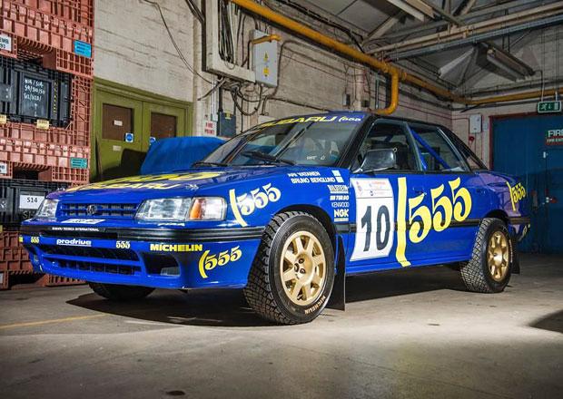 Subaru Legacy RS z počátků slávy své značky v rallye hledá nového majitele