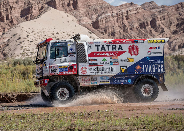 "Dakar 2018: Kolomý zaznamenal ""hattrick""!"