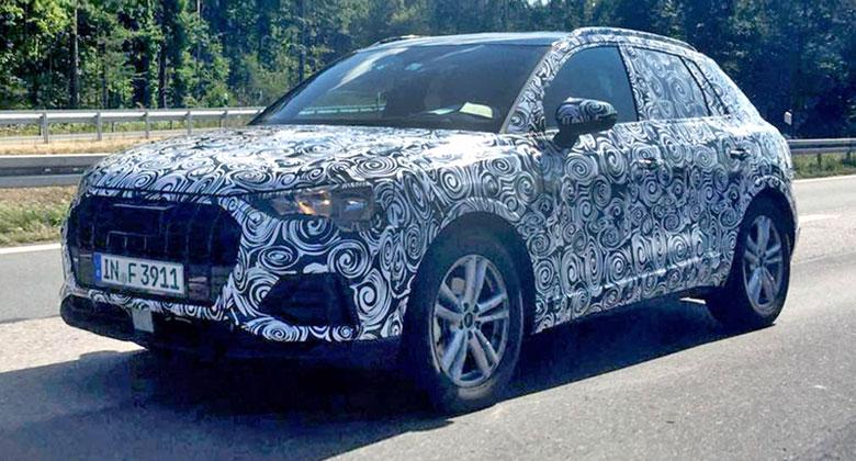 Audi Q3 na špionážních snímcích: Zvenčí evoluce, v útrobách revoluce