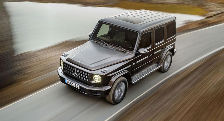 Mercedes-Benz třídy G má první českou cenu. Kolik stojí s osmiválcem?