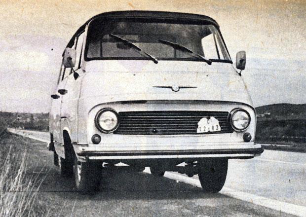 Legendární dobový test: Škoda 1203! Začal stylově, poruchou...
