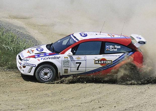Jezděte jako Colin McRae! Jeho Ford Focus WRC z roku 1999 míří do aukce