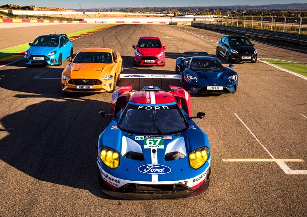 Ford Performance nechal osm svých sportovců hrát si na honěnou. Jak to dopadlo?