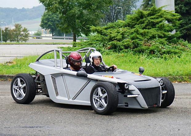 Představuje se další český výrobce aut! Co čekat od lehoučkého sporťáku Sigma TN?