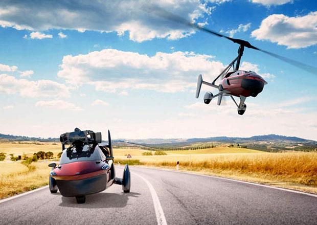Létající auto PAL-V Liberty je skutečností. Sériový kousek se ukáže už vŽenevě!