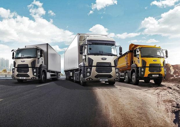 Víte, že Ford vyrábí nákladní auta? Nyní je začíná prodávat také u nás!