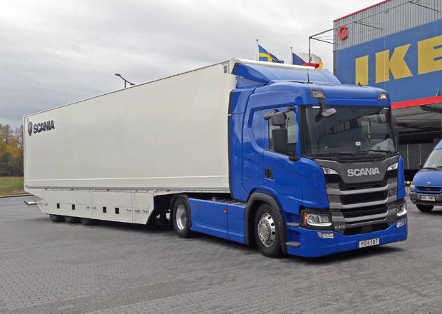 Scania G 410: Nová kabina