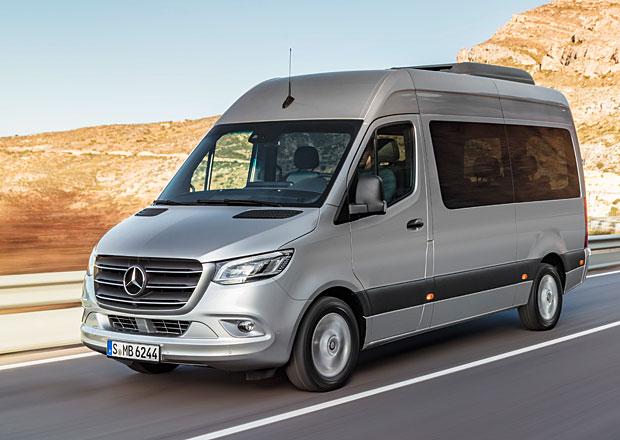 Mercedes-Benz Sprinter: Třetí generace může mít i přední pohon