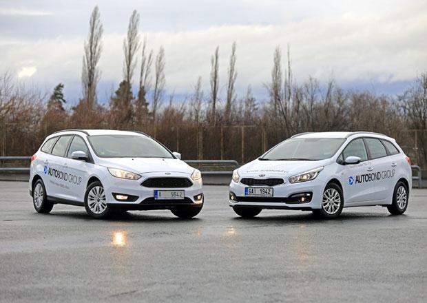 Ford Focus kombi 1.6 Ti-VCT vs. Kia Cee´d SW 1.4 CVVT – Souboj kombíků do 350.000 Kč!