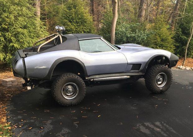 Tohle je ten nejbláznivější Chevrolet Corvette na světě. Je to zvýšený pick-up!