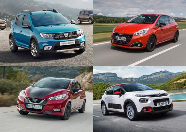 Malá naftová auta pomalu mizí ze scény. Která pořídíte nejvýhodněji?