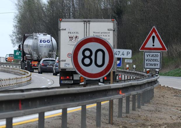Opravované úseky D1 budou pod drobnohledem. Kde vám hrozí pokuty za rychlost?