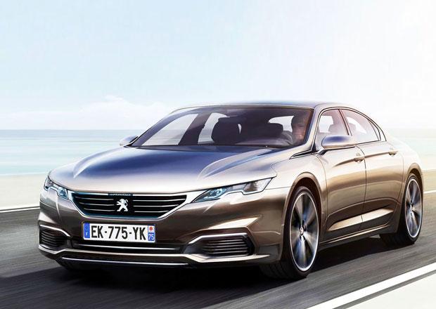 Stárnoucí Peugeot 508 se konečně dočká nástupce. Uvidíme ho už v Ženevě!