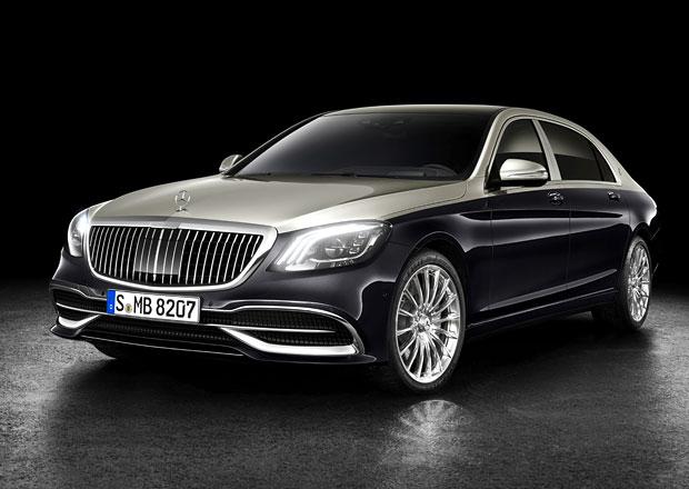 Mercedes-Maybach S prošel modernizací. Je to teď víc Maybach než Mercedes