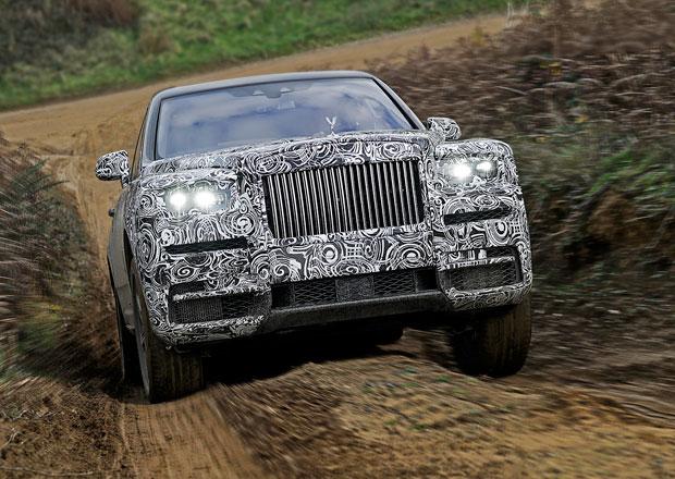 Rolls-Royce oficiálně: Naše SUV se bude jmenovat...
