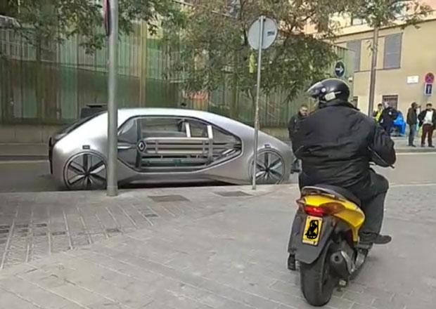 V ulicích Barcelony byl spatřen futuristický koncept Renaultu. Míří do Ženevy?