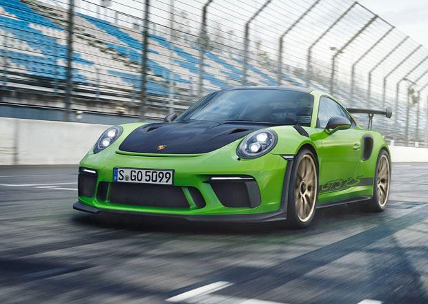 Porsche 911 GT3 RS nastupuje ve své nejvýkonnější a nejrychlejší podobě