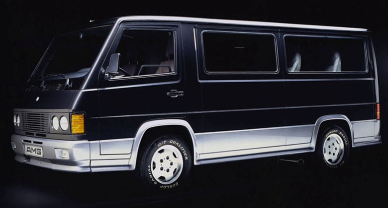 Mercedes-Benz MB 100 D AMG (1987-1989): Když AMG tunilo dodávky