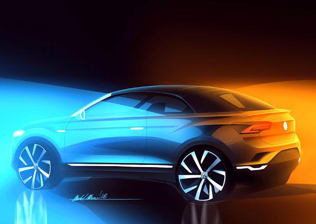 Volkswagen T-Roc přijede i jako kabriolet! Ukazuje první skicu, kdy se jej dočkáme?
