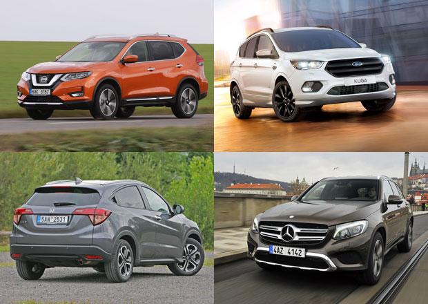 Popularita SUV roste. Tohle jsou ta nejprodávanější SUV světa za rok 2017!