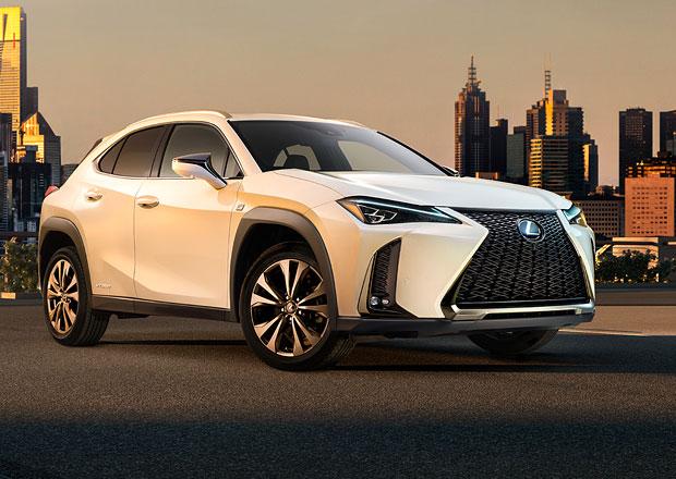 Tohle je Lexus UX. Prohlédněte si první fotky nového luxusního crossoveru do města