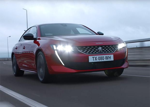 Nový Peugeot 508 září na prvních videích. Ať je stejně sexy i naživo!