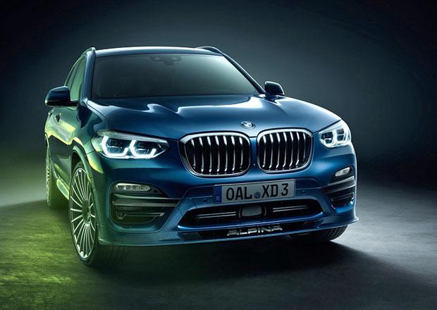 Alpina XD3 je vznětové BMW X3 se čtyřmi turbodmychadly a výkonem 388 koní