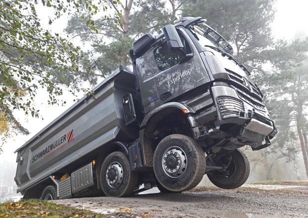 Mercedes-Benz Arocs: Další varianty