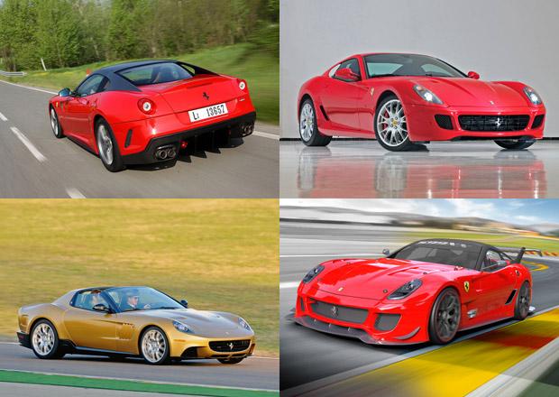 Ferrari 599 GTB Fiorano nemělo pouze jednu podobu. Podívejte se do velké galerie!