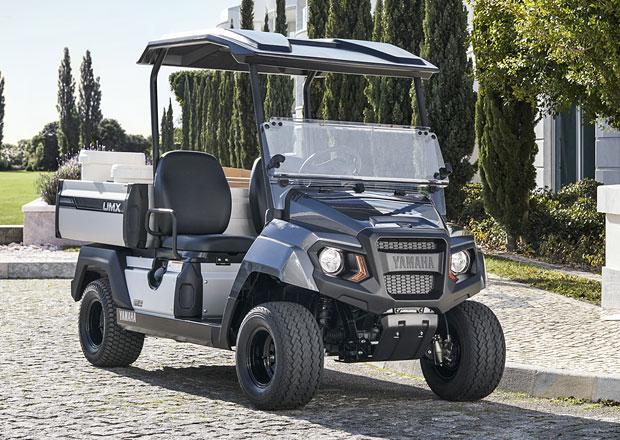 Yamaha UMX je malý čtyřkolový pracant se slabostí pro golf
