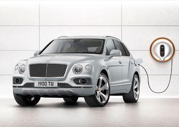 Bentley Bentayga Hybrid má na elektřinu ujet přes 50 kilometrů