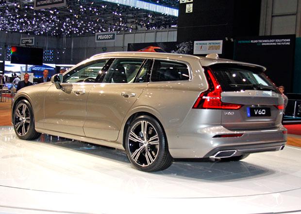Ženeva 2018: Volvo V60 poprvé naživo. Emotivní kombík spořádnou porcí vnitřního prostoru