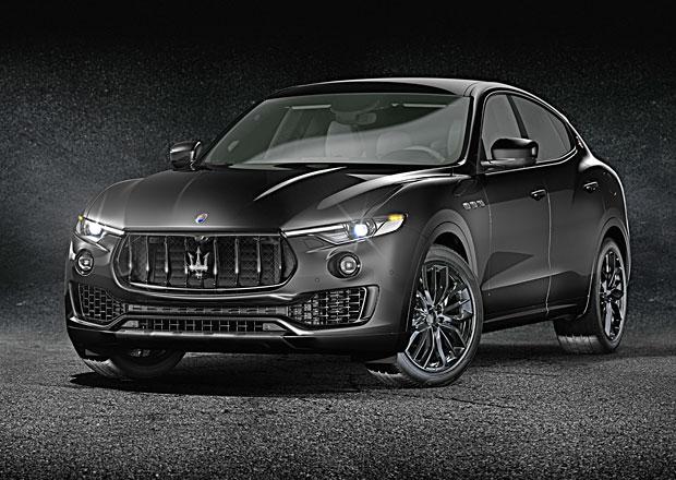 Maserati vsadilo na černou a uvádí Ghibli, Quattroporte i Levante v Nerissimo Edition
