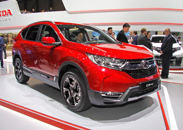 Ženeva 2018: Honda CR-V poprvé naživo. Je opravdu prostorná!