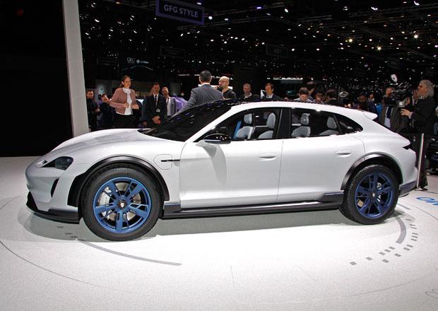 Porsche Mission E Cross Turismo: Elektrický crossover má blízko k sériové výrobě