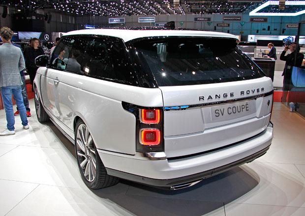 Range Rover SV Coupé: Nejluxusnější a nejexkluzivnější range má jen tři dveře!