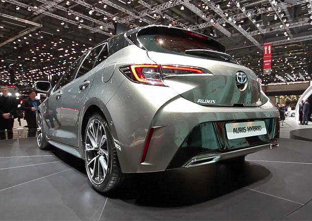Ženeva 2018: Toyotu Auris nám ukázali jenom napůl