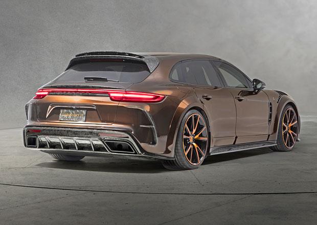 Porsche Panamera Sport Turismo v úpravě Mansory si hraje na 911 GT3 RS