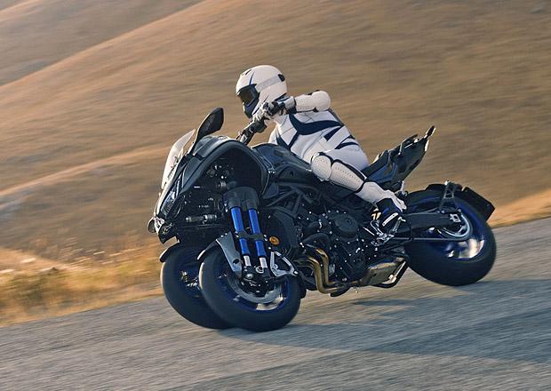 Yamaha Niken: Unikátní tříkolová motorka míří na trh!