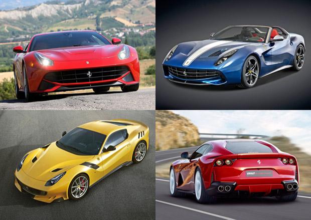 Ferrari F12berlinetta se pyšní exkluzivními deriváty i extrémním nástupcem