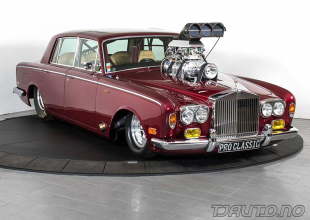 Dragster Rolls-Royce Silver Shadow: Sprintující luxus. A je na prodej!