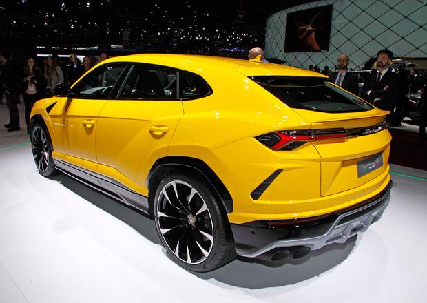 Lamborghini zaskočil zájem zákazníků o nové SUV Urus