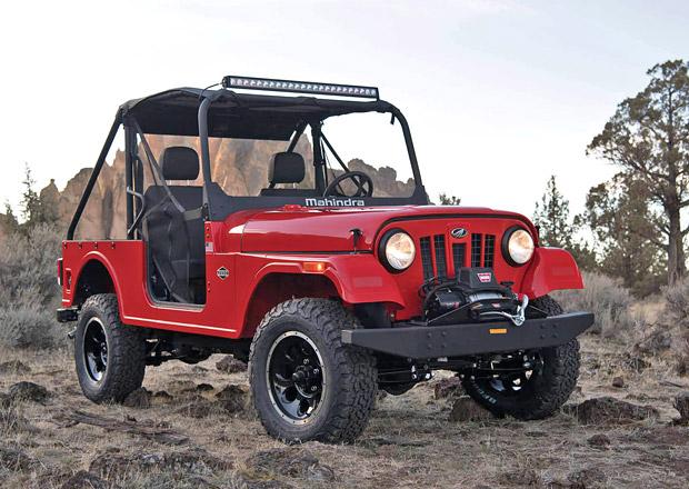 Mahindra Roxor oživuje styl klasických modelů CJ značky Jeep