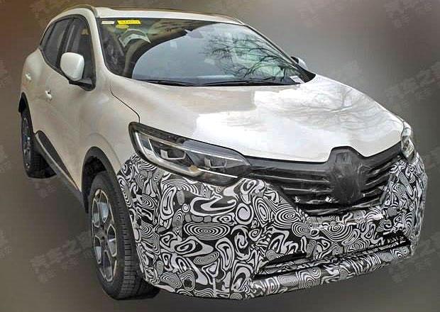 Renault Kadjar se chystá na facelift. Máme první fotky