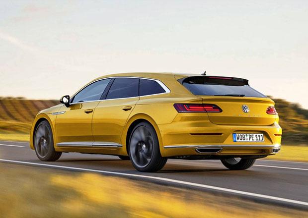 Milovníci kombíků zbystřete! Volkswagen potvrdil příchod Arteonu Shooting Brake