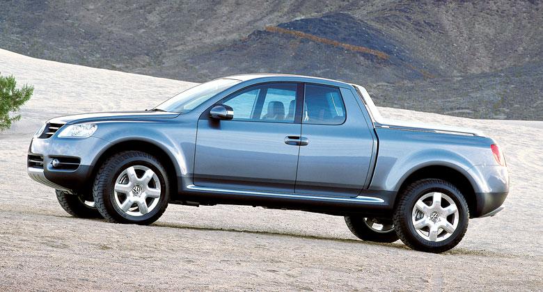 Zapomenuté koncepty: VW AAC. Pamatujete, co bylo před Amarokem a Touaregem?