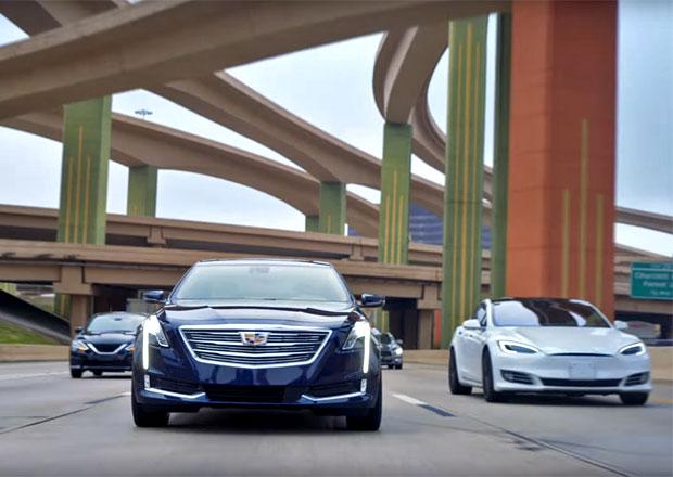 Další reklamní rýpnutí do Tesly, krátkým spotem tentokrát provokuje Cadillac